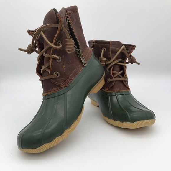 Sperry Topsider Waterproof Rubber Boots